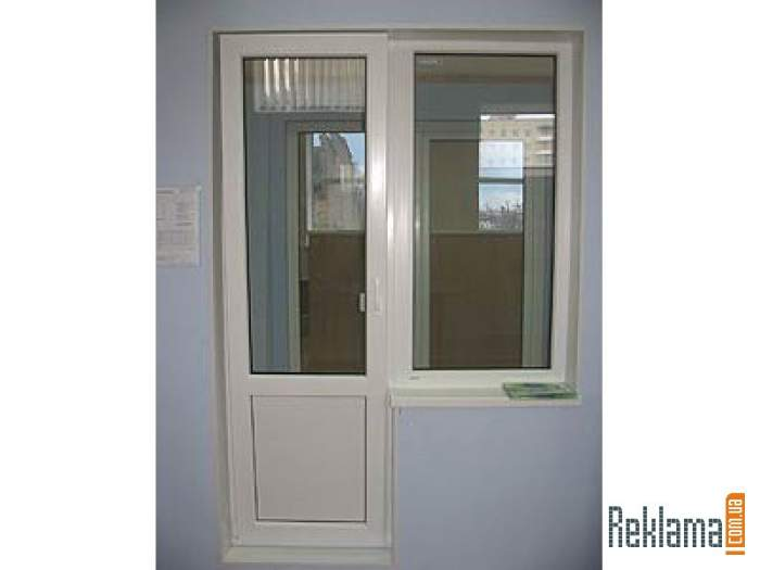 Пластиковые двери входные, балконные, межкомнатные (пвх двер.